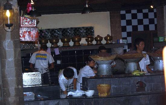 Kecak Bali: kitchen