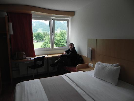 Ibis Zürich Adliswil: Vista desde la habitacion