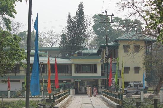 Jaldapara Tourist Lodge down the road from park  Picture of
