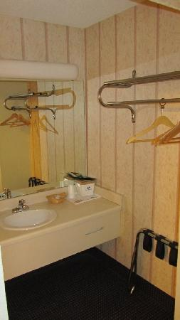 Americas Best Value Inn & Suites: Sink