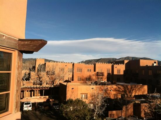 Hotel Santa Fe, The Hacienda and Spa: from balcony