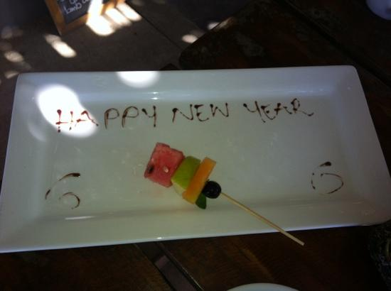 Clarke of the Karoo: what a beautiful welcome to 2012 this morning from owner Mike