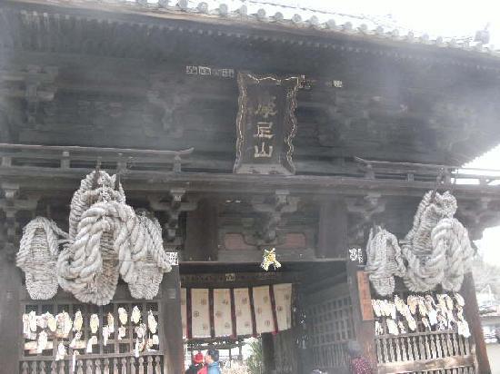 Saikokuji Temple: 巨大草履のある仁王門