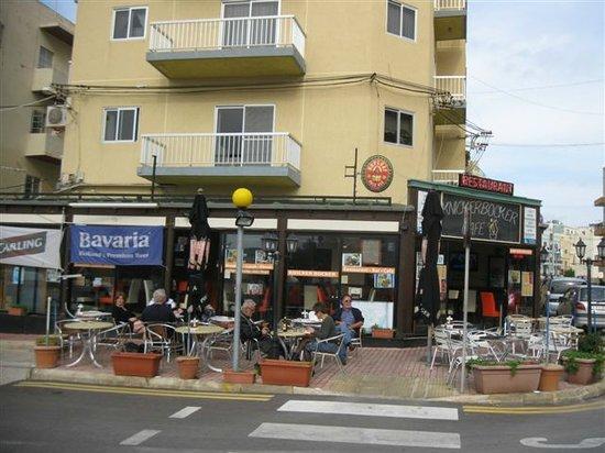 Knickerbocker Restaurant: Cafe Knickerbocker, Aussenansicht