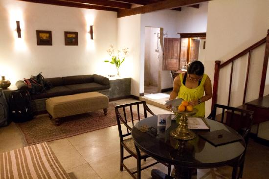 Galle Fort Hotel: Ground floor room 3