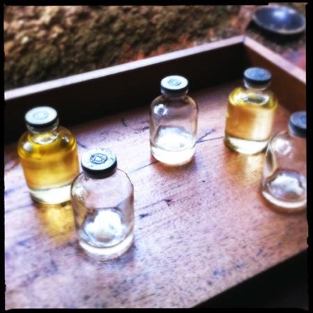 The Sanctuary Spa: oil!