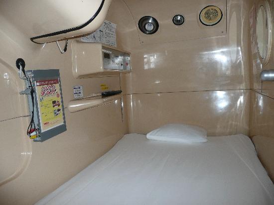 Green Plaza Shinjuku Capsule Hotel: your room-capsule
