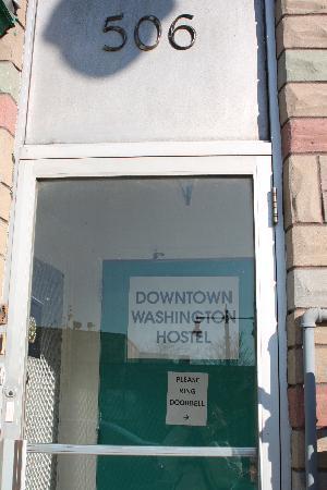 Downtown Washington Hostel: ingresso
