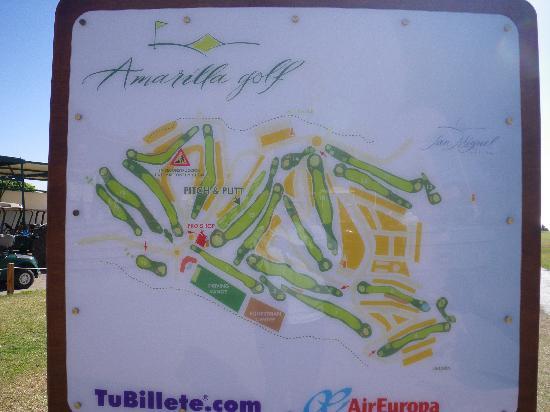 San Miguel de Abona, Spain: parcours Amarilla