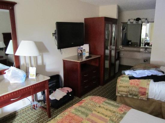 Best Western Chaffin Inn: Blick ins Zimmer