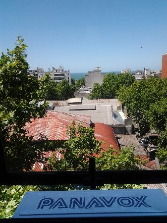 Hotel Klee: VIEW from Klee Montevideo, room 705