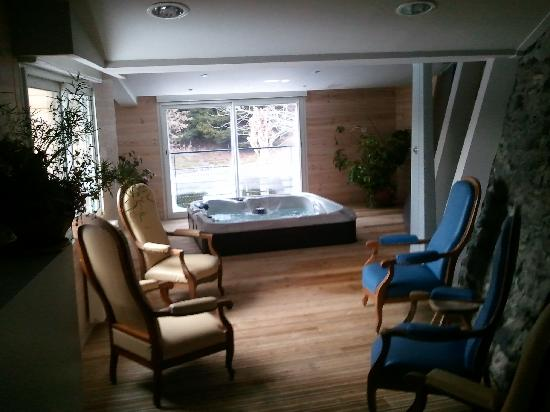 Logis Le Central Hôtel & Restaurant : le coin spa
