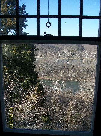 Laurel Lodge: The view outside the Cedar Room