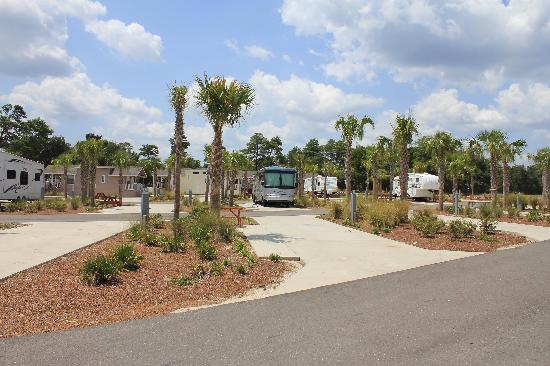 ‪‪Carrabelle Beach, an RVC Outdoor Destination‬: Carrabelle Beach cottages and RV pads‬