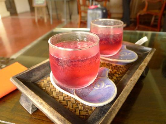 Bodhi Serene Hotel: The welcome drink