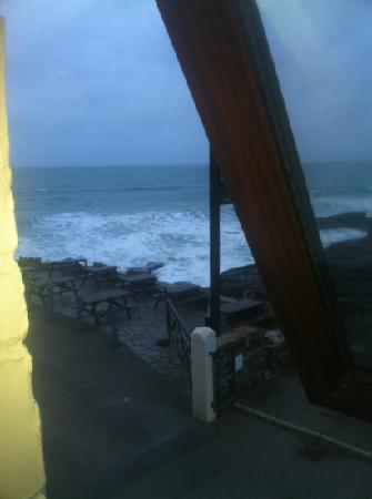 Port William Inn: view from our room!