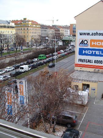 A&O Wien Stadthalle: Vista da janela