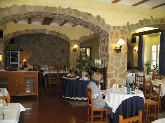 Hotel la Masia del Cadet: restaurant