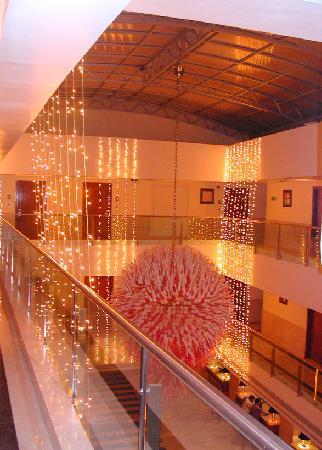 เรดิสสัน บลู อุทัยปุระ พาเลซ รีสอร์ท แอนด์ สปา: Decorations in December