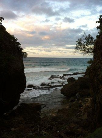 Quebradillas, Puerto Rico: playa guajataca
