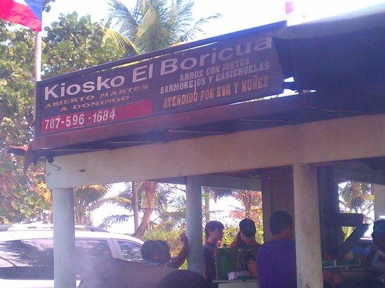 Loiza, Porto Riko: Kiosko El Boricua