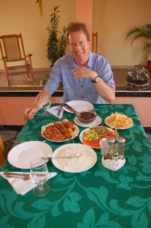 Casa Villa Silvia: Enjoying the food of Silvia