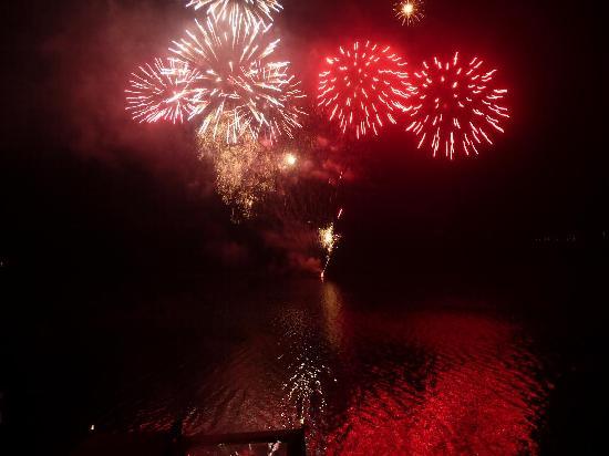 Schloss Seefels Hotel: fuochi d'artificio