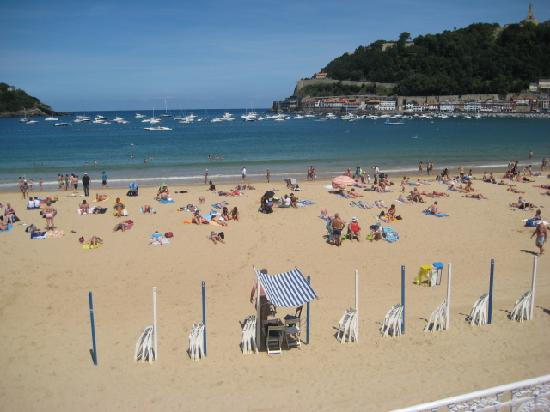 Playa de La Concha: playa la concha