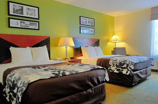 Sleep Inn Emporia: Our Newly Refreshed Double Rooms