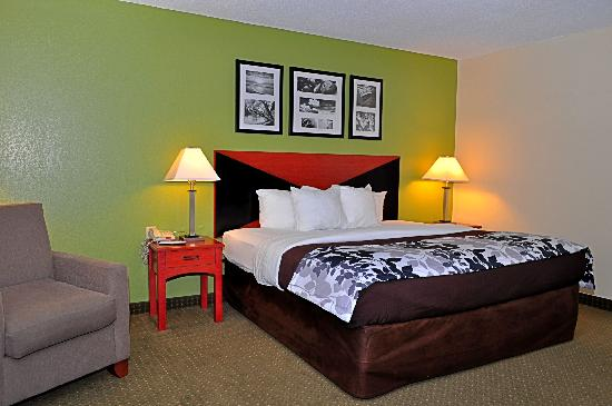 Sleep Inn Emporia: Our Newly Refreshed King Rooms