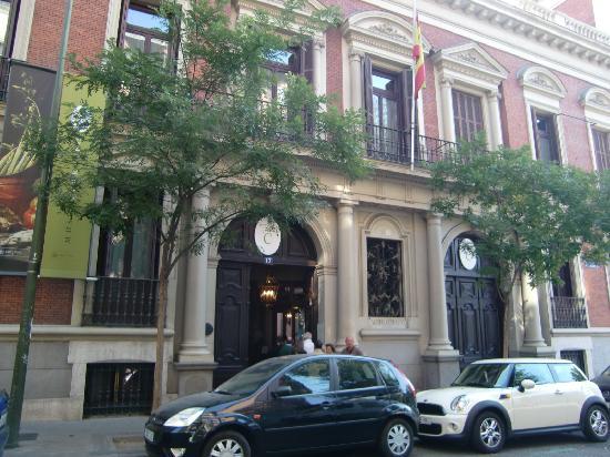 Museo Cerralbo : Façade van het museo Cerralba