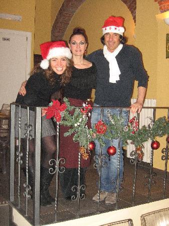 Olio, Pomodoro, Basilico: Si accettano preno:qui locale da me riservato per festa aziendale di Natale!
