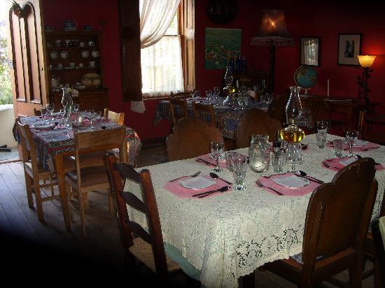 Tradouw Guesthouse: Dining room