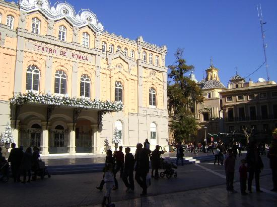 Plaza Julián Romea, Murcia.