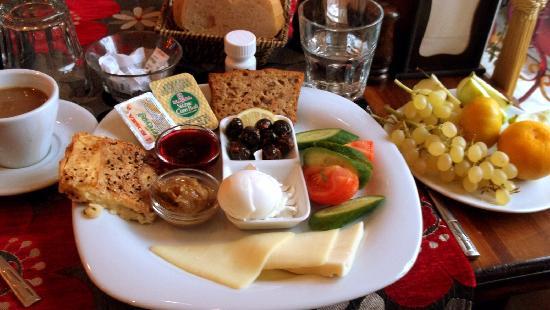 Hotel Han: breakfast!