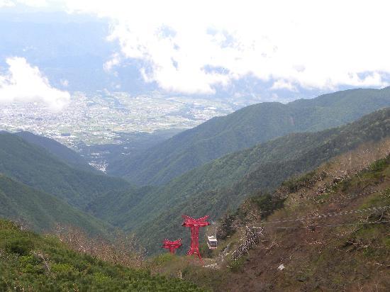 Komagatake Ropeway : 伊那盆地を一望