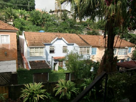 Pousada Casa Áurea Boutique : Blick aus Zimmer hinten