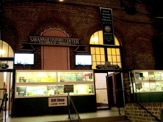 Savannah Visitors Center: Hier bekommt man alles, was man braucht