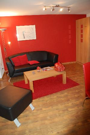 Apartments Alpenfirn: Lounge area