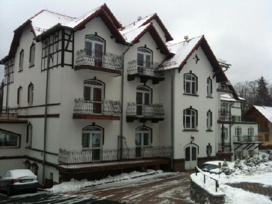 Swieradow Zdroj, Polen: Park Hotel outside