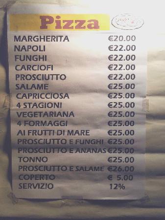 Restaurant Pizza Da Celio: La vergogna della categoria