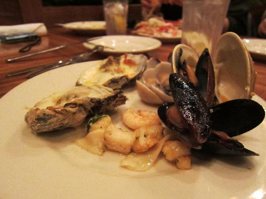 Captain George's Seafood Restaurant KDH: part of the buffet