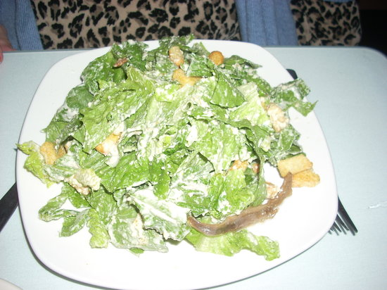 Gheppetto's Grill: A Caesar Salad at Gheppetto's
