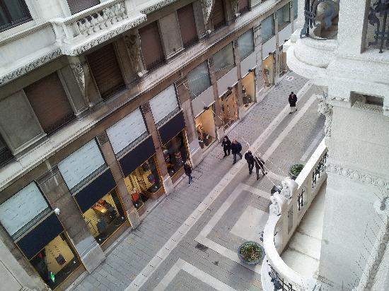Palace Suite: Vista dal terrazzino