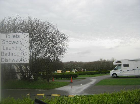 Budemeadows Touring Park: view