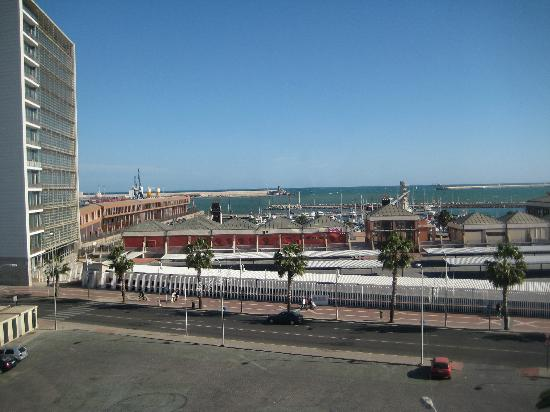 Tryp Melilla Puerto Hotel: View from our room