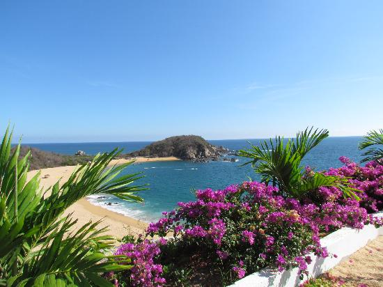 Secrets Huatulco Resort & Spa : View from the spa