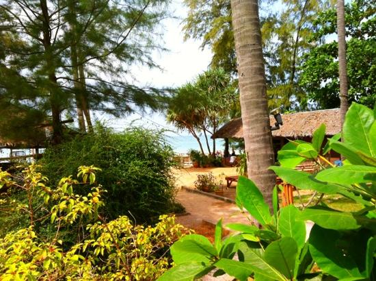Thai House Beach Resort - Koh Lanta: view from our bungalows deck