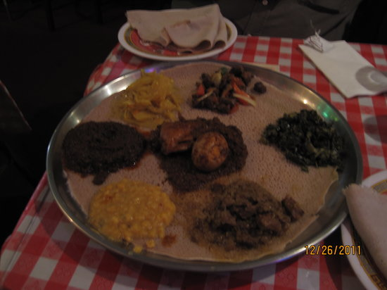 Photo of African Restaurant Lalibela at 1415 14th St Nw, Washington DC, DC 20005, United States
