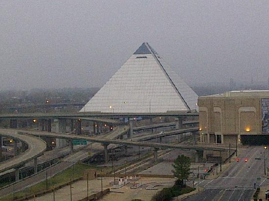 Of the pyramid where new bass pro shop will be picture for New hotels in memphis tn